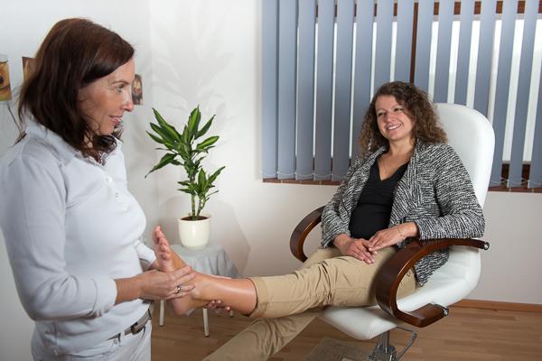 Fußreflex-Wellness-Massage