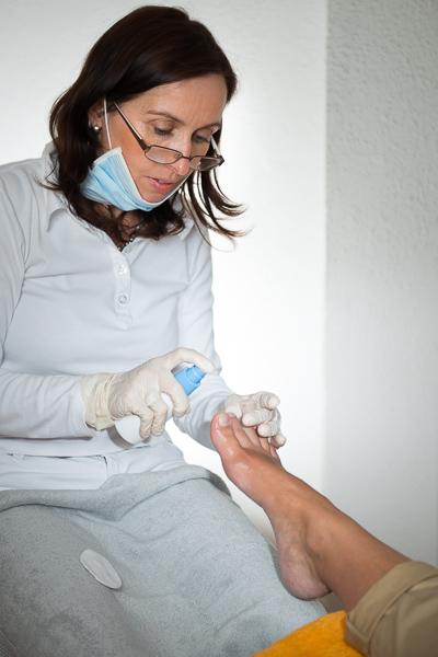 Angebot Fusspflege - Desinfektion